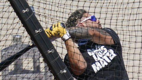 Omar Narváez busca despertar al bate tras mala campaña