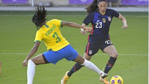 EEUU derrota a Brasil en Copa SheBelieves; cae Argentina