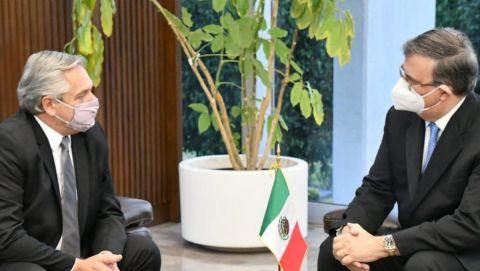 AMLO da bienvenida a Alberto Fernández, presidente de Argentina