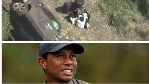 Tiger Woods sufre accidente automovilístico