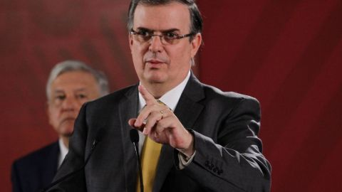 Ebrard celebrará encuentro con secretario de Estado de EU