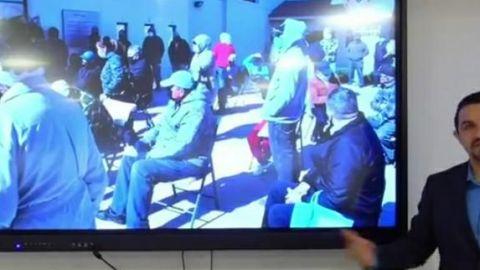 Continúa vacunación de adultos mayores en Tecate