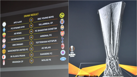 Quedaron definidos los octavos de final de la Europa League 2021