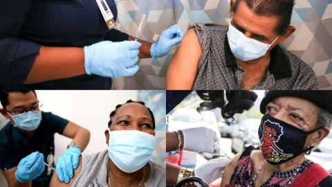 Uno de cada siete californianos ya se vacunó contra covid-19