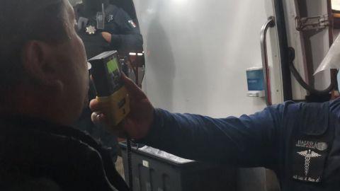Fin de semana con detenidos por conducir alcoholizados