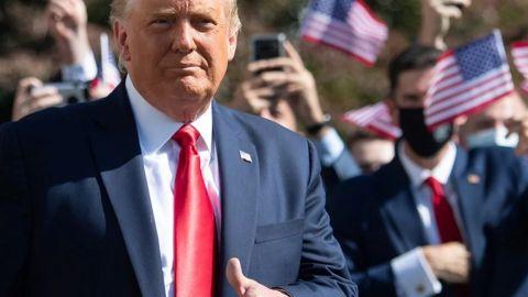''Esto no se ha terminado'': Trump amenaza con volver a buscar la presidencia