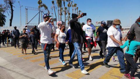 Apatía de ciudadanos en Tijuana ante situación migrante