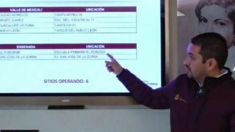 Vacunan a adultos mayores contra COVID-19 en el Valle de Mexicali y Ensenada