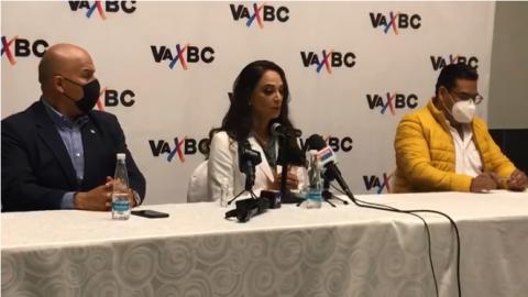 Acepta Lupita Jones abanderar a la coalición Va Por BC para la gubernatura