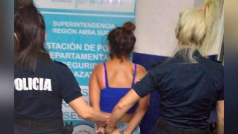 Mujer es detenida por prostituir a sus 4 hijas menores