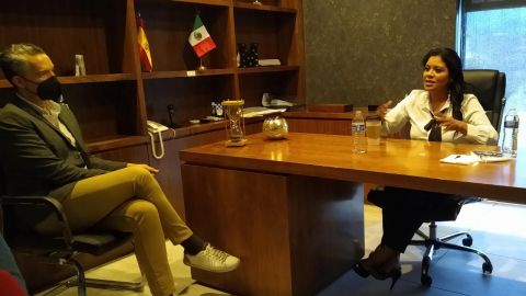 Impulsar proyectos culturales un tema importante para Monserrat Caballero