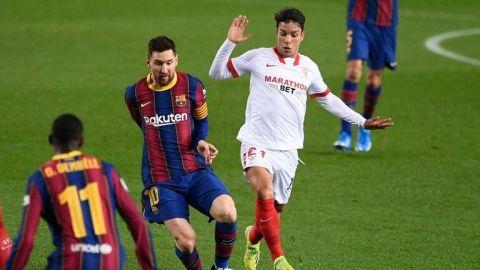Barcelona remonta al Sevilla 0-3 en la Copa del Rey