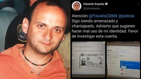 """""""Sigo siendo amenazado""""; Lalo España denuncia extorsión en redes sociales"""