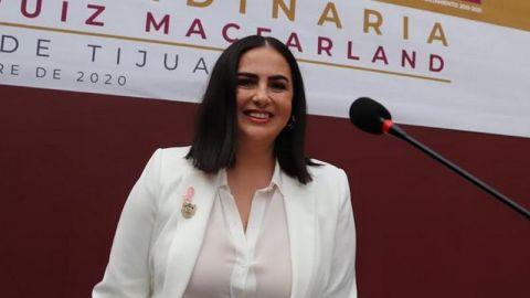 Alcaldesa de Tijuana ordena retirar valla de seguridad