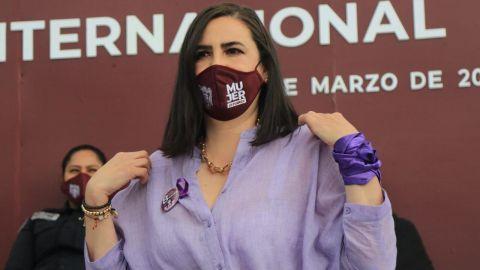 Respalda alcaldesa de Tijuana marcha feminista