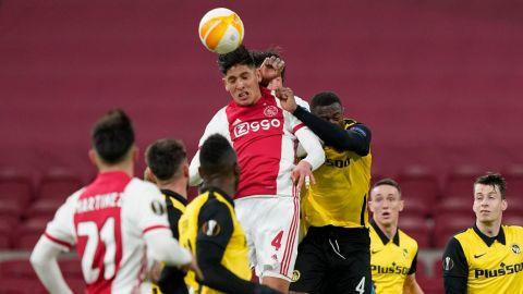 Ajax de Edson Álvarez se impone sobre Young Boys