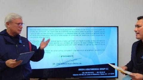 Veloz cobró 2mdp a dueños de hospital 'para campaña de Bonilla'