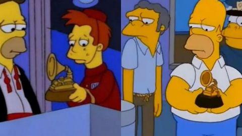 Los capítulos de 'Los Simpson' en los que se burlan de los Premios Grammy