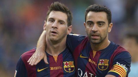 Messi iguala el récord de Xavi de más partidos con la camiseta del Barcelona