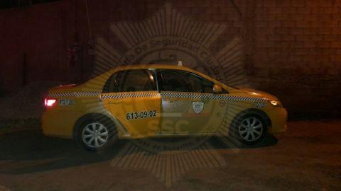 Lo mataron en su taxi en Rosarito