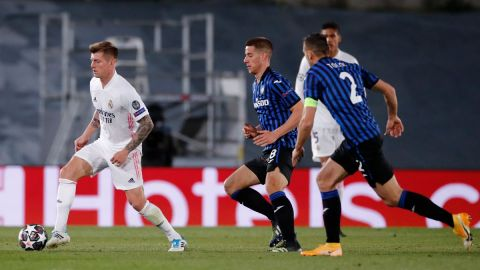 Real Madrid recupera liderazgo ante el Atalanta