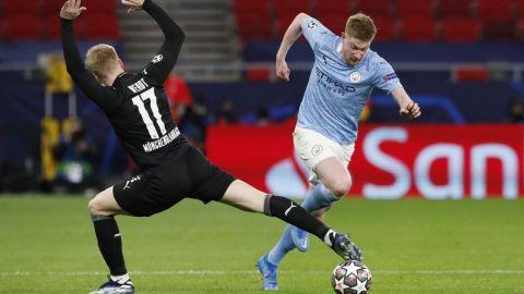 Manchester City deja en el camino al Borussia Monchengladbach