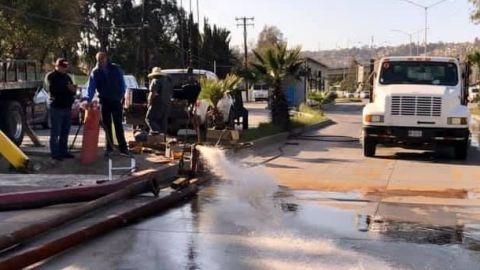💧 Sin agua en Tijuana por limpieza de tanque