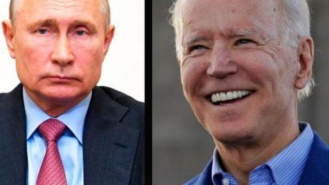 ''El que lo dice lo es'', responde Putín sobre declaraciones de Biden