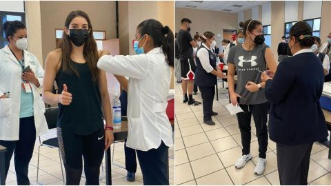 Deportistas reciben vacuna contra COVID 19 rumbo a Tokio 2021