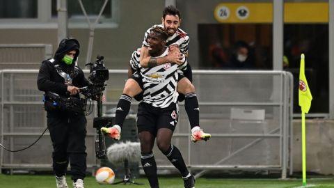Manchester United elimina al AC Milán en Europa League