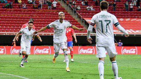 El Tri a un paso de Tokio 2021 tras golear a Costa Rica