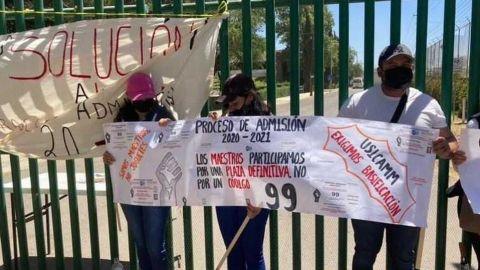 En Guanajuato 4 mil docentes en riesgo de perder empleo, piden base