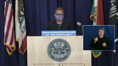 Mujer de San Diego da positivo a la variante brasileña de COVID-19
