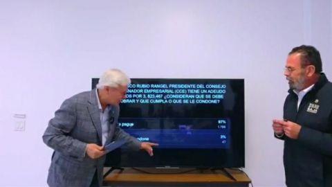 Bonilla pide al Presidente del CCE que pague el adeudo millonario a la CESPT