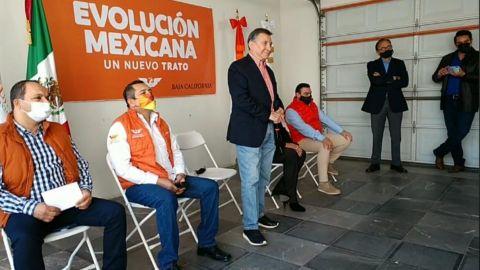 Alcibíades García, candidato a gobernador por Movimiento Ciudadano