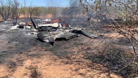 Se desploma avioneta en Sonora en la que viajaba funcionario; hay 4 muertos