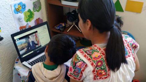 Con clases alternas, regreso escolar presencial en Puebla