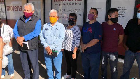 Militantes de Morena toman las instalaciones del partido