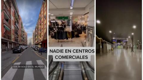 Hombre dice venir del año 2027 y comparte videos del mundo sin humanos