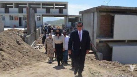 Para agosto, terminarán prepa militarizada en Tecate