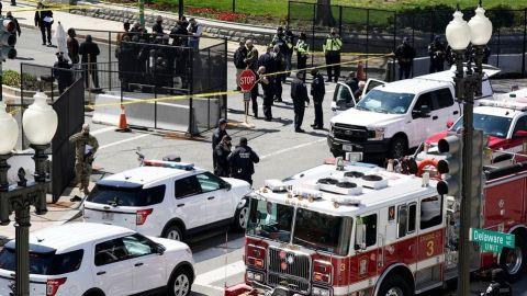 Atacan El Capitolio en Washington; otra vez cerrado