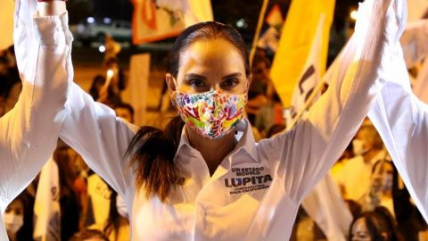 Hacer de Baja California un estado modelo, promesa de Lupita Jones