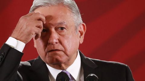 Por veda electoral, AMLO no presenta avances de obras