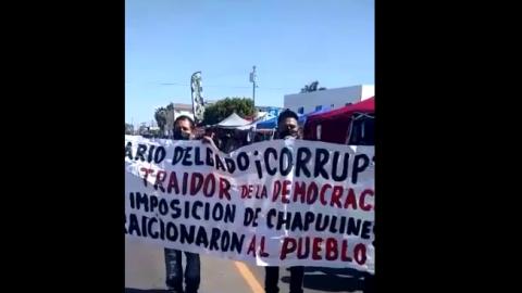 Video: Acusan de corrupto a Mario Delgado, dirigente de Morena