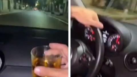 VIDEO: Jóvenes se graban bebiendo alcohol; provocaron TERRIBLE ACCIDENTE