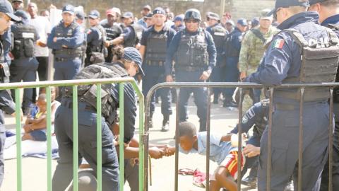 Crecen abusos contra migrantes en la 4T