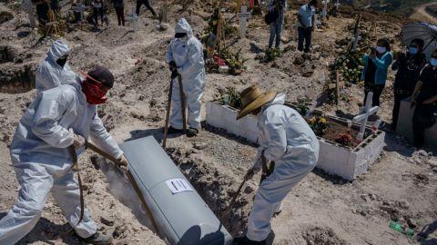 México acumula 209 mil 338 muertes por Covid-19