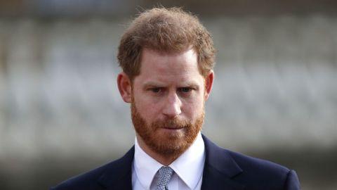 Príncipe Harry llega a Reino Unido para el funeral de Felipe de Edimburgo
