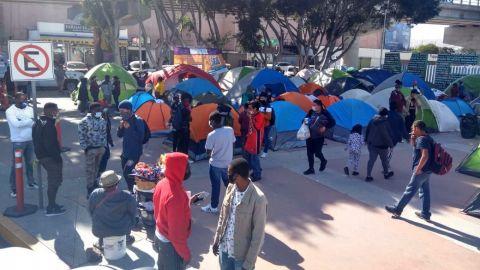 Se propaga Covid 19 en campamento migrante de El Chaparral