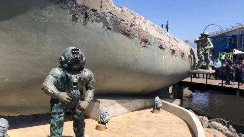 Monumento al pescador para honrar su memoria